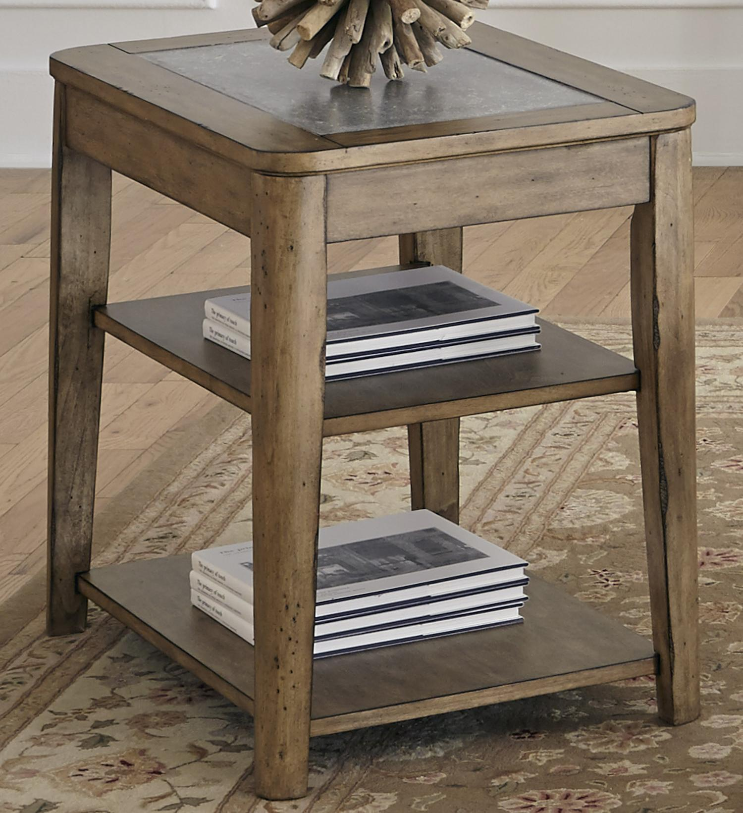 chair side tables with storage pride lift parts diagram liberty furniture weatherford table concrete top item number 645 ot1021