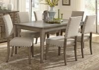 Liberty Furniture Weatherford Casual Rustic 7 Piece Dining ...