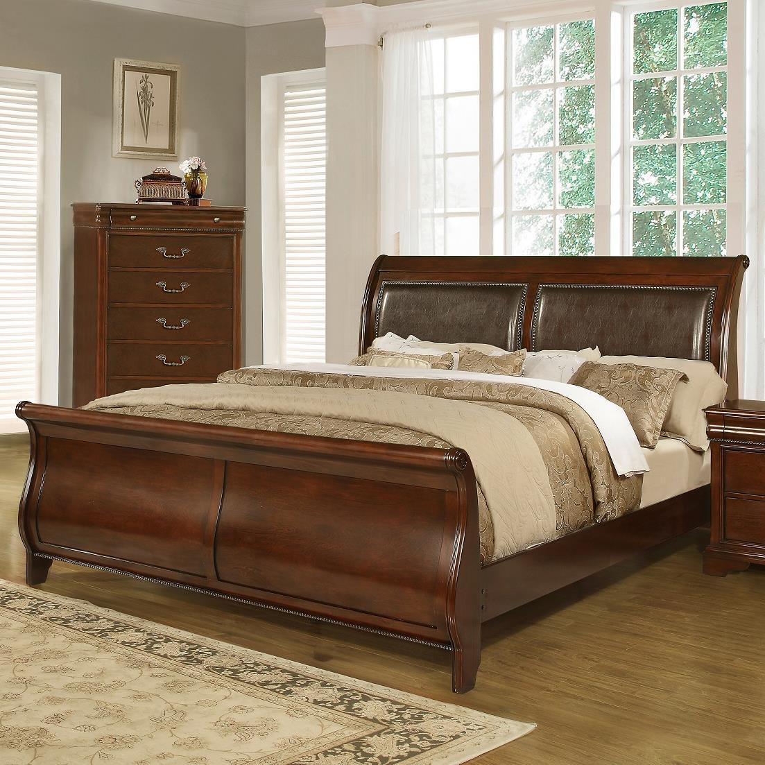 c4116a queen sleigh bed