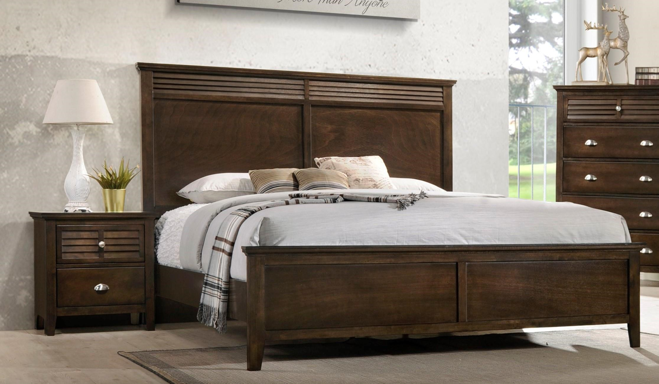 Lifestyle C7313 Transitional King Bed With Tall Headboard Furniture Fair North Carolina Panel Beds