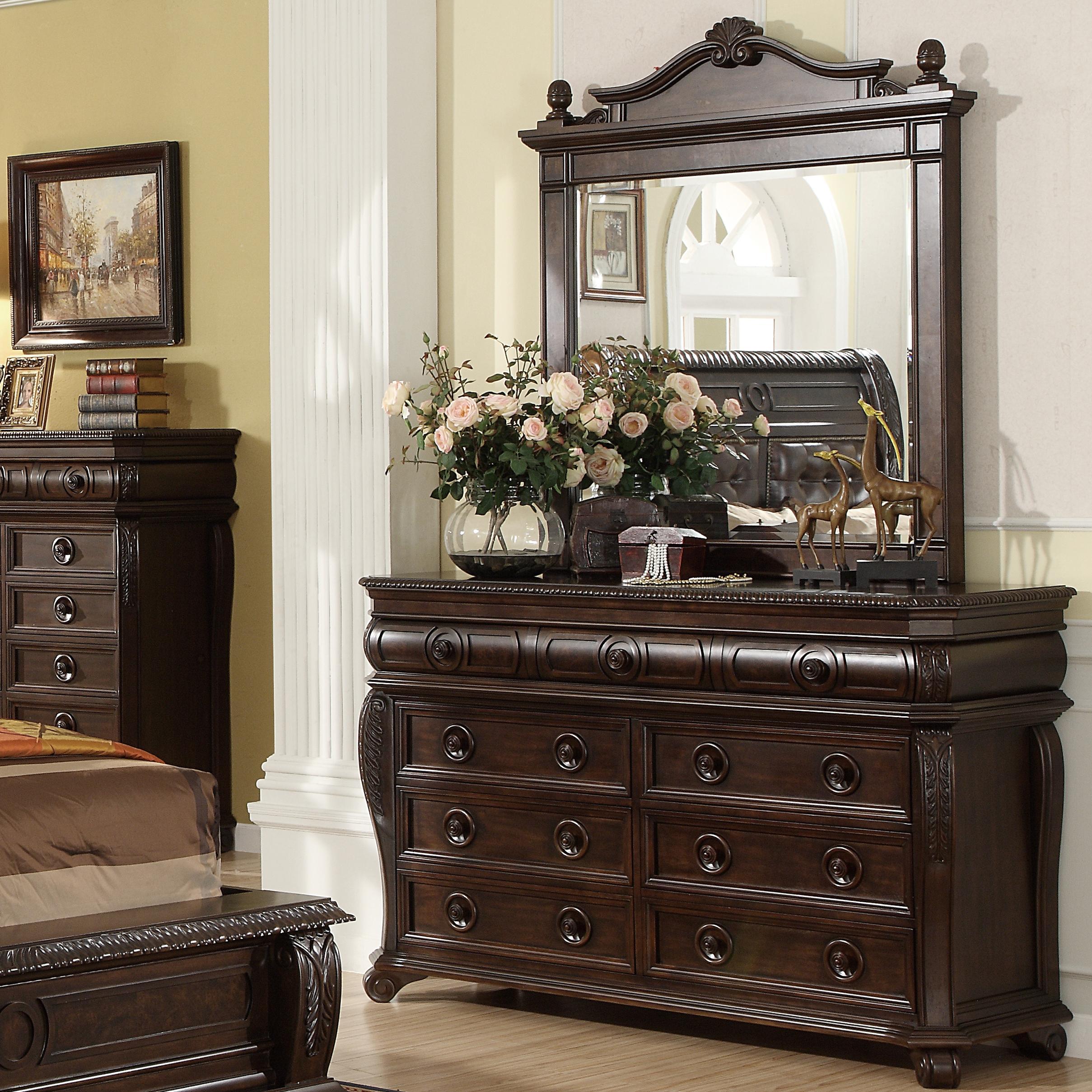 Home Insights Hillsboro Dresser W Landscape Mirror