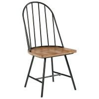 Magnolia Home by Joanna Gaines Primitive Metal Hoop Chair ...