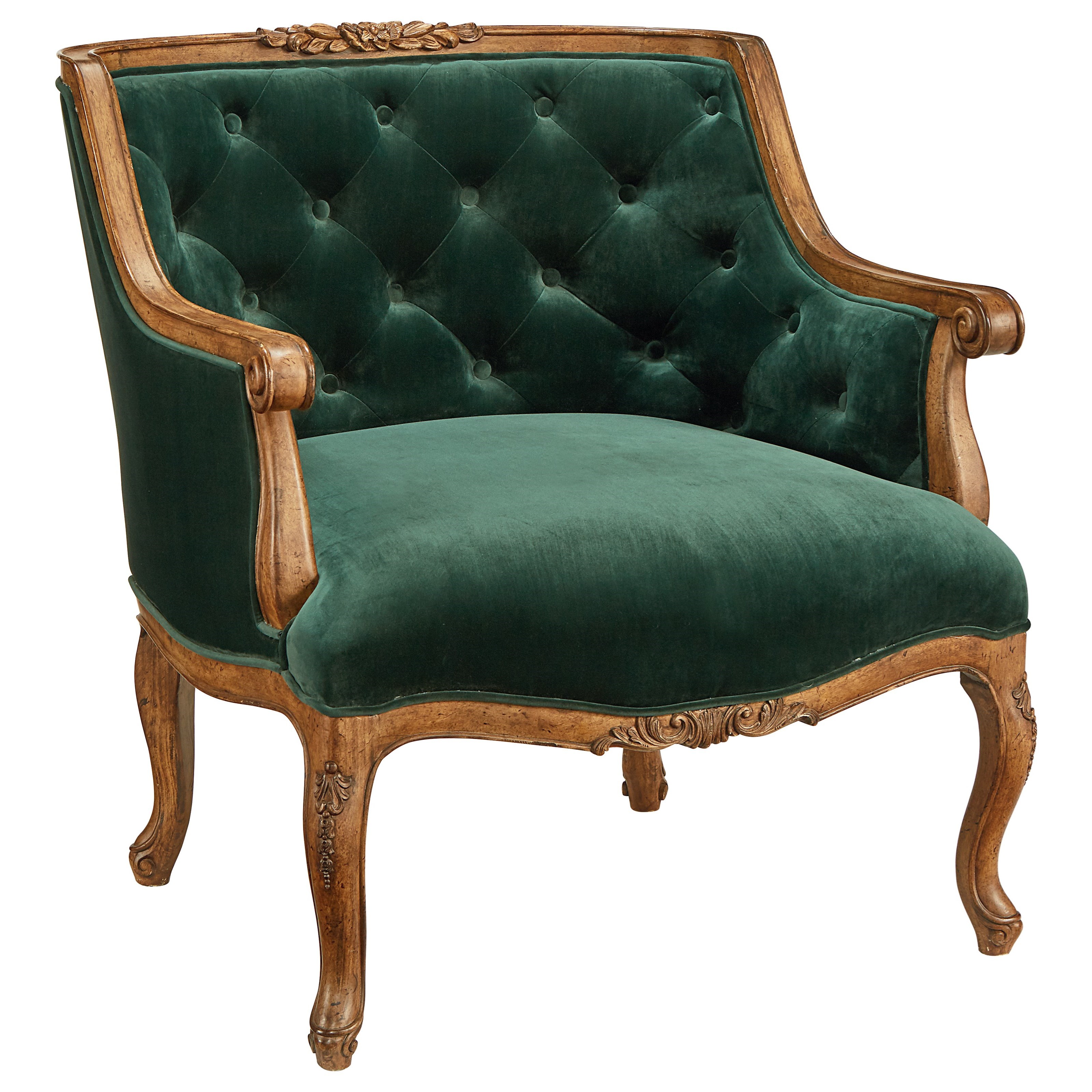 Green Upholstered Chair Magnolia Home By Joanna Gaines Accent Chairs 80612060 Bloom