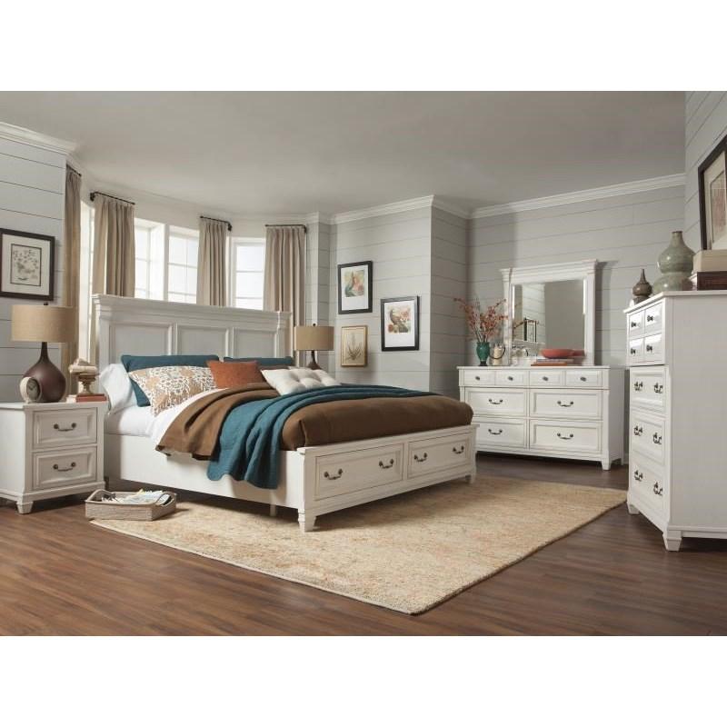 Magnussen Home Brookfield California King Bedroom Group  Reeds Furniture  Bedroom Groups