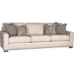 Modern Twine Curved Arm Sofa High End Sleeper Mayo Moore S Home Furnishings