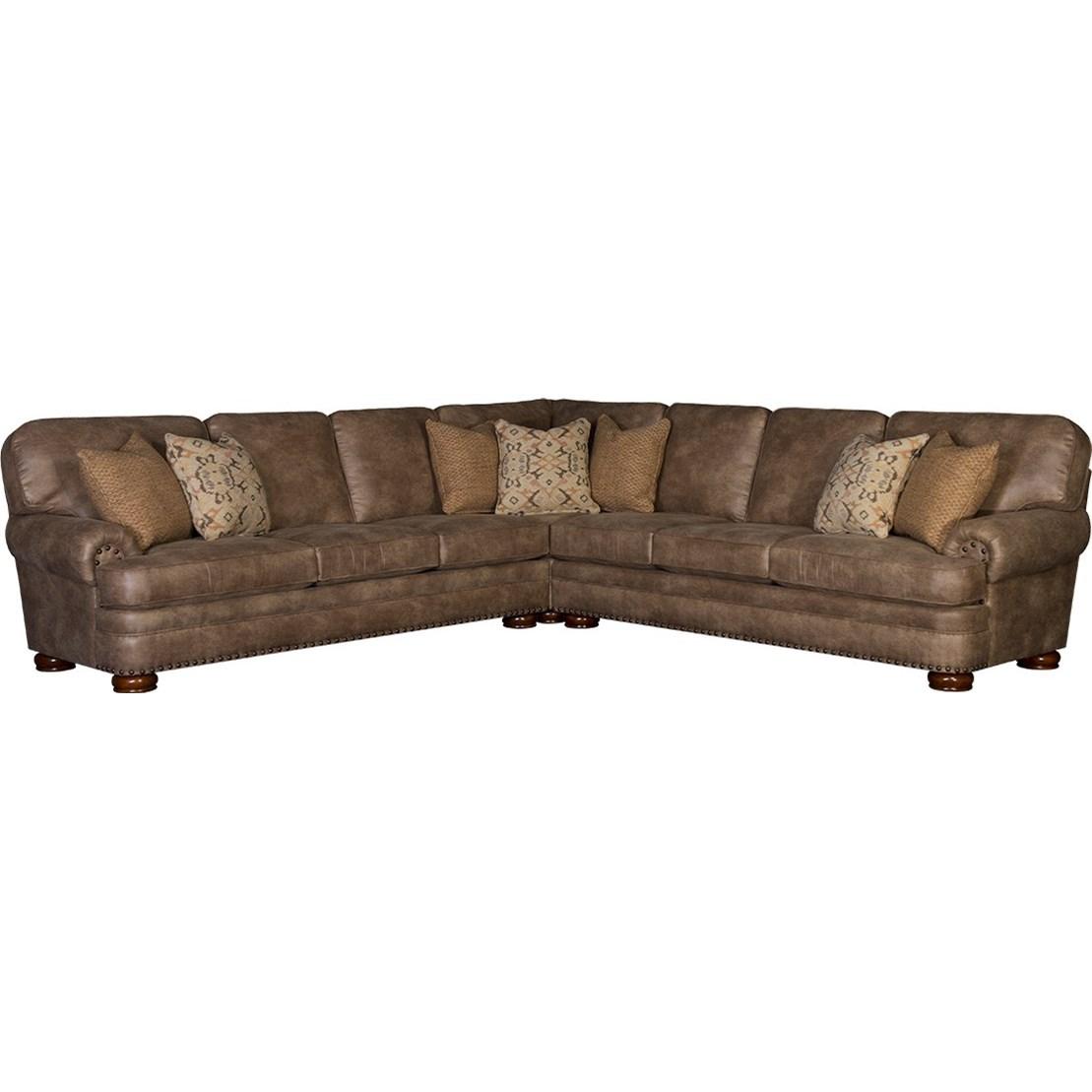 mayo 3620 six seat sectional sofa