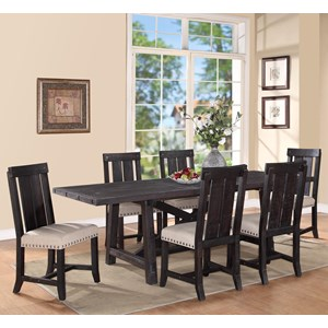 dining table and chair sets cover rentals norfolk va colder s furniture appliance 7 piece rectangular set
