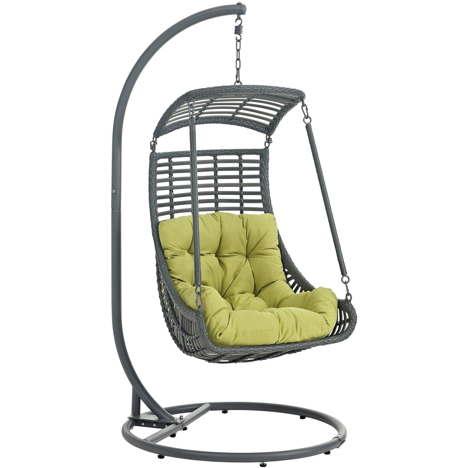 Swinging Chair Jungle Outdoor Patio Swing Chair With Stand By Modway At Value City Furniture