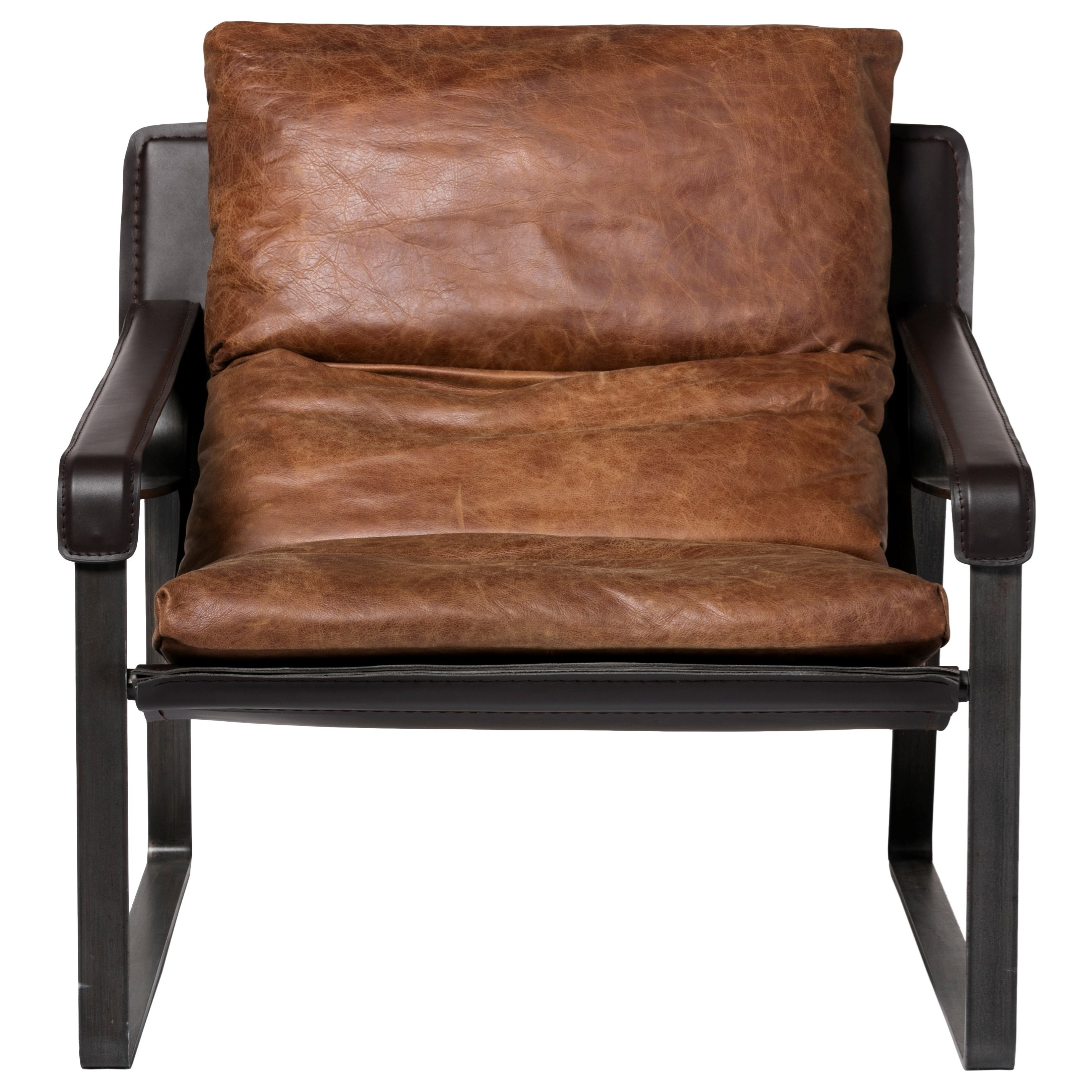 Wood Club Chair Connor Club Chair With Exposed Metal Frame By Moe S Home Collection At Stoney Creek Furniture