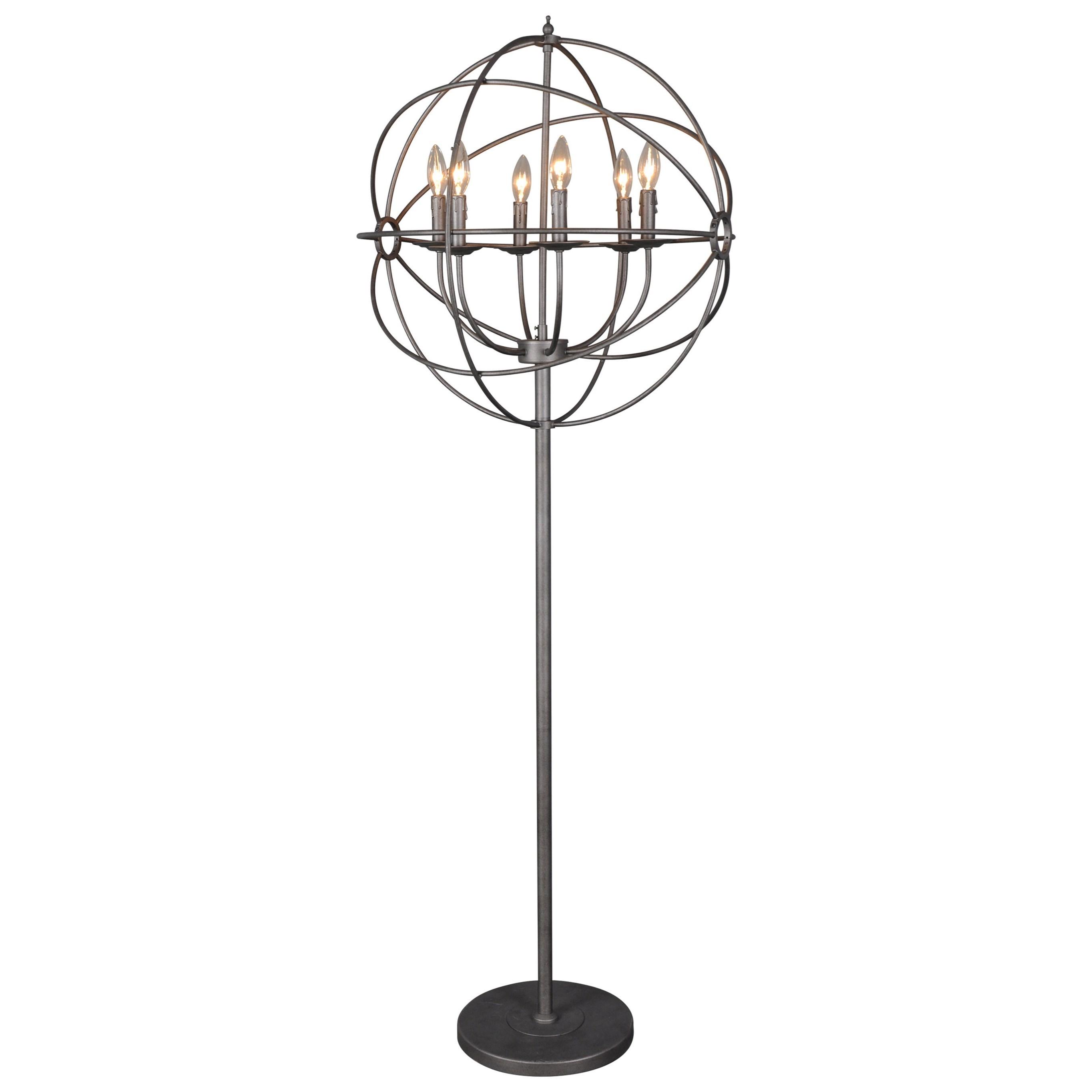Moe S Home Collection Lighting Rossana Floor Lamp