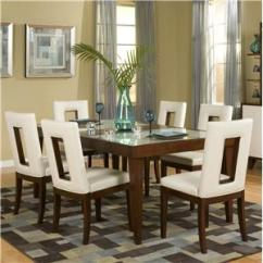6 Chair Dining Set Tolix Marais Seven Piece Room Table Brentwood By Najarian Wilcox 7 And