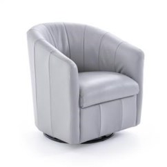 Natuzzi Swivel Chair Cheap Director Chairs For Sale Editions A835 066 Contemporary Barrel