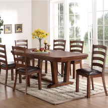 Classic Lanesboro 7 Piece Dining Table And Ladder