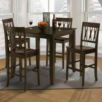 New Classic Style 19 Small Counter Height Table and Abbie ...