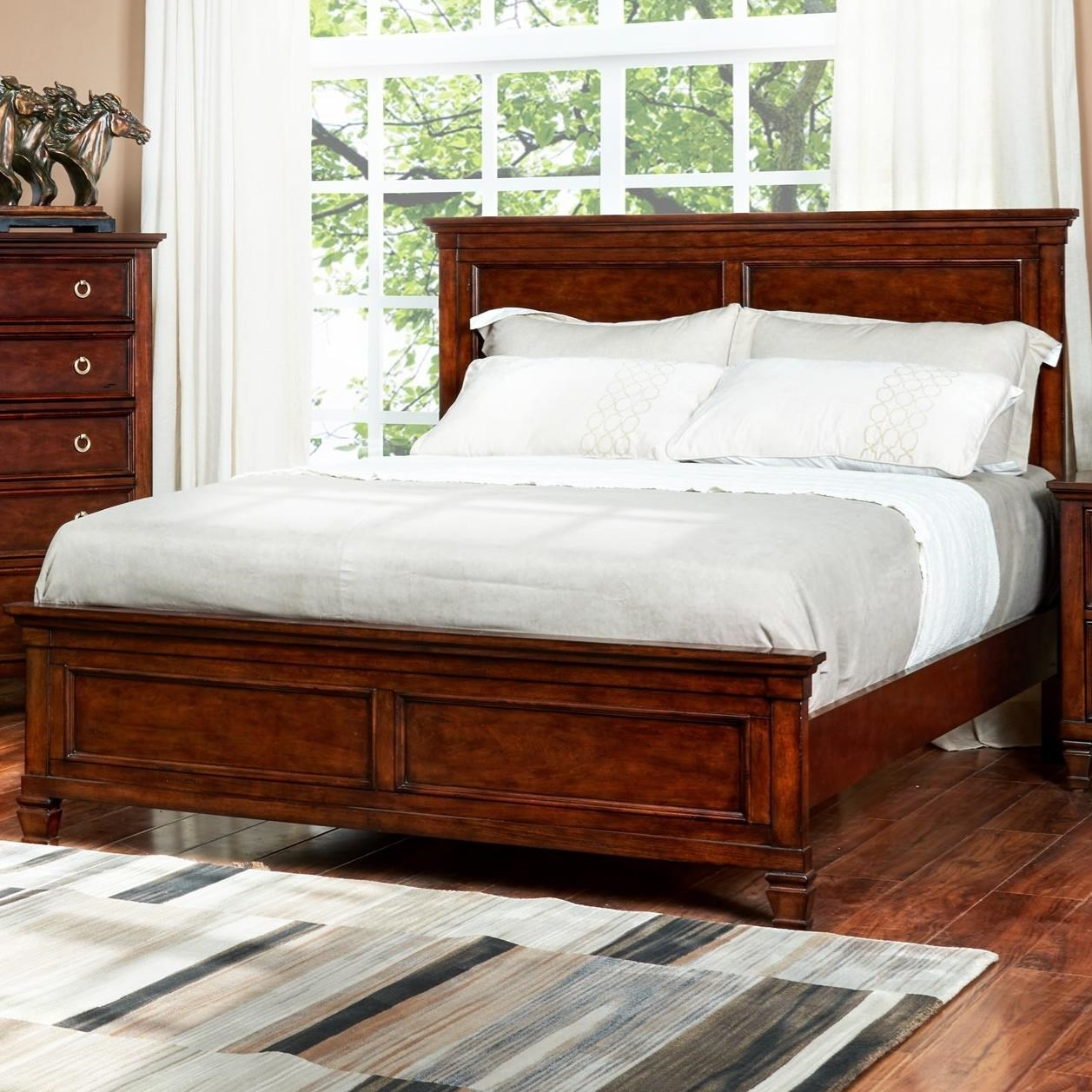 New Classic Tamarack King Panel Headboard And Footboard