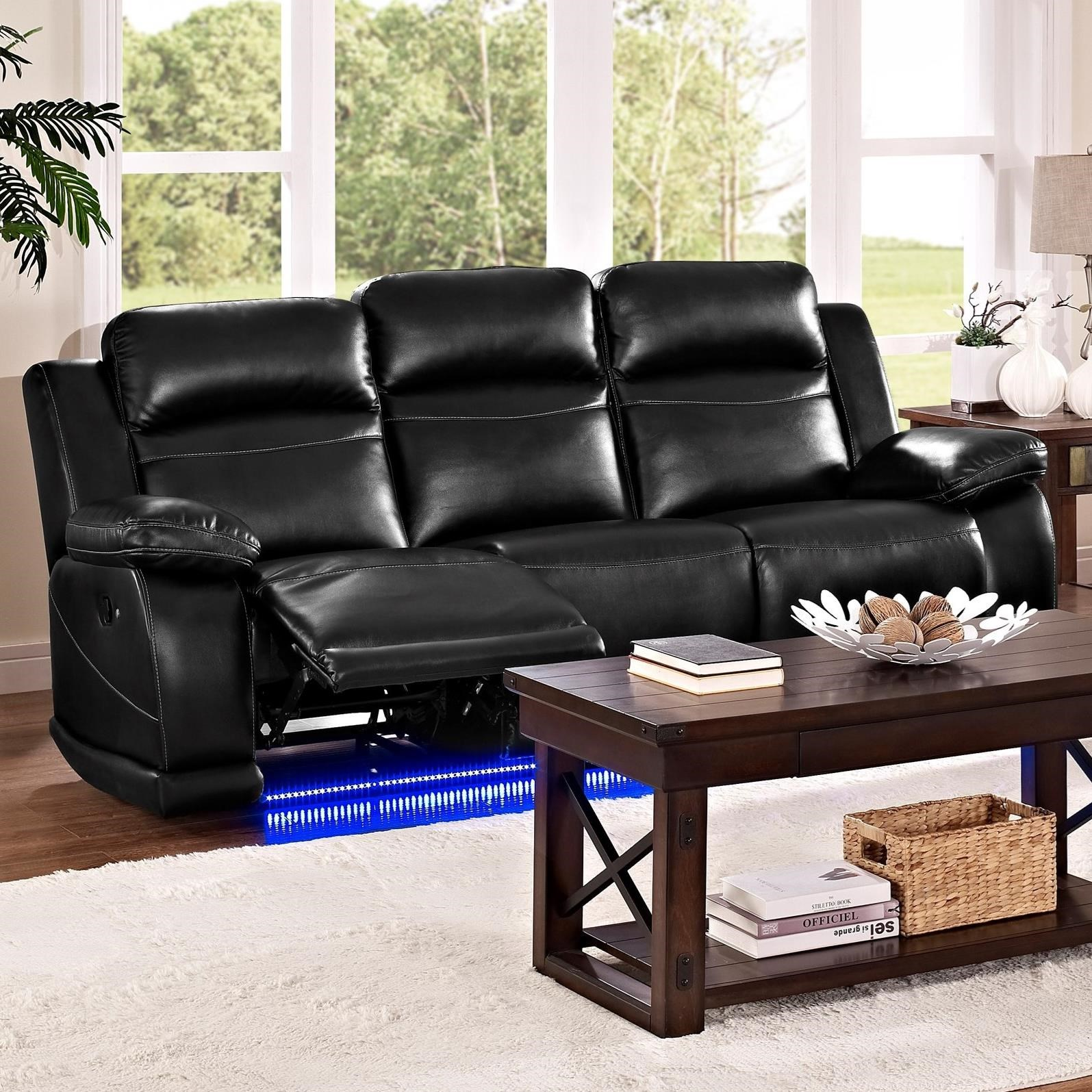 albany leather sofa belgium manufacturers new classic vega u3822 30 casual reclining with lighted base by