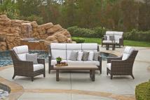 Northcape International Avant 3 Seater Wicker Sofa