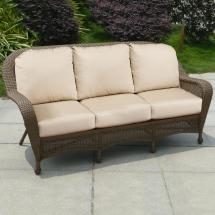 Northcape International Winward Cocoa Woven Deep Seat
