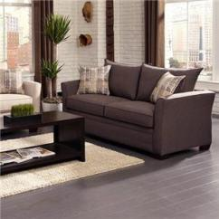 Overnight Sofa Retailers Repair Bed Frame Replacement Warehouse M 79 7946 Spectrumsand Sunbrella Fabric Full Sleeper With Loose Back Pillows