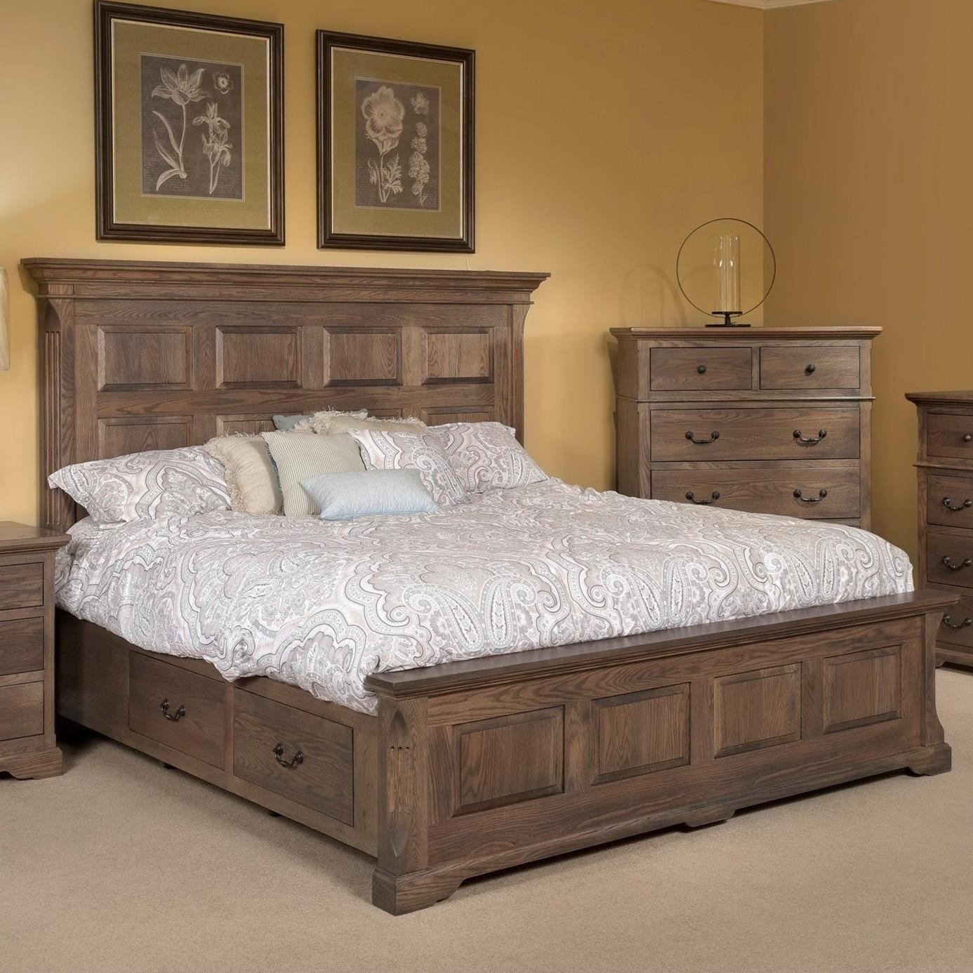 Palettes By Winesburg Longmeadow Traditional King Size