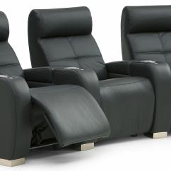 Theater Chairs With Cup Holders Williams Sonoma Palliser Indianapolis Contemporary 3 Person Power Seating Cupholders And Headrests