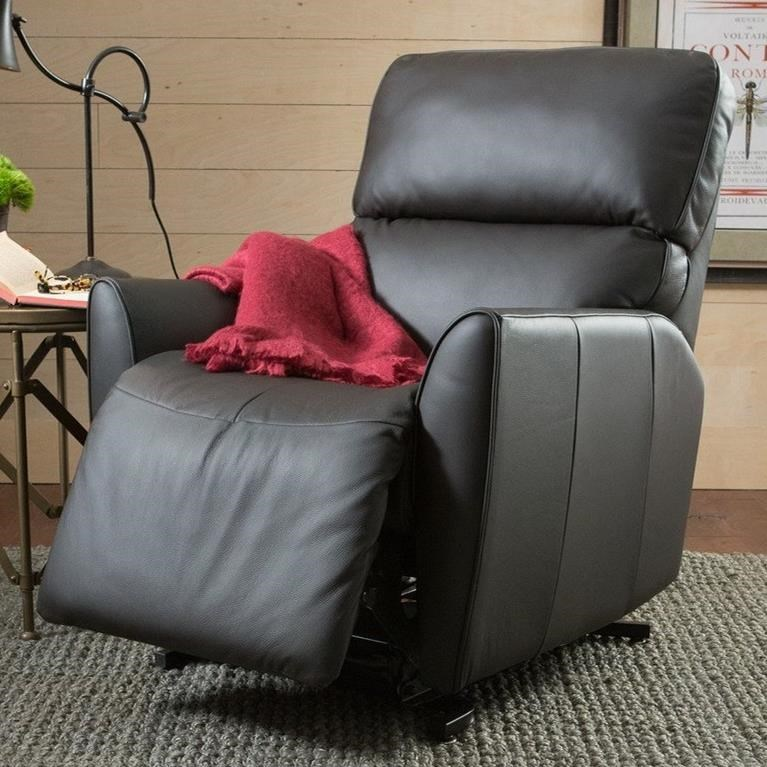 palliser chair and ottoman dorm lounge chairs markland casual rocker recliner with tapered arms | prime brothers furniture three ...