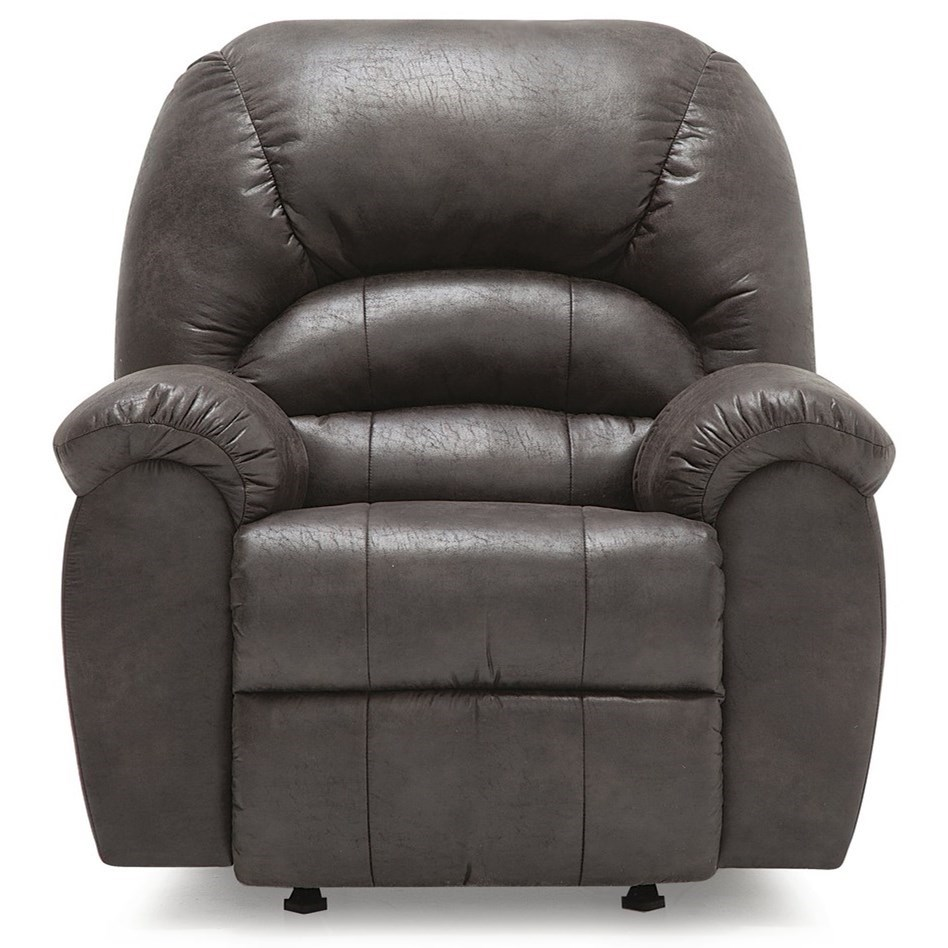 Swivel Rocker Recliner Chair Taurus Casual Swivel Rocker Recliner Chair With Pillow Arms By Palliser At Dunk Bright Furniture