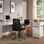 Boca Three Piece L Shaped Desk Belfort Furniture L Shape Desks