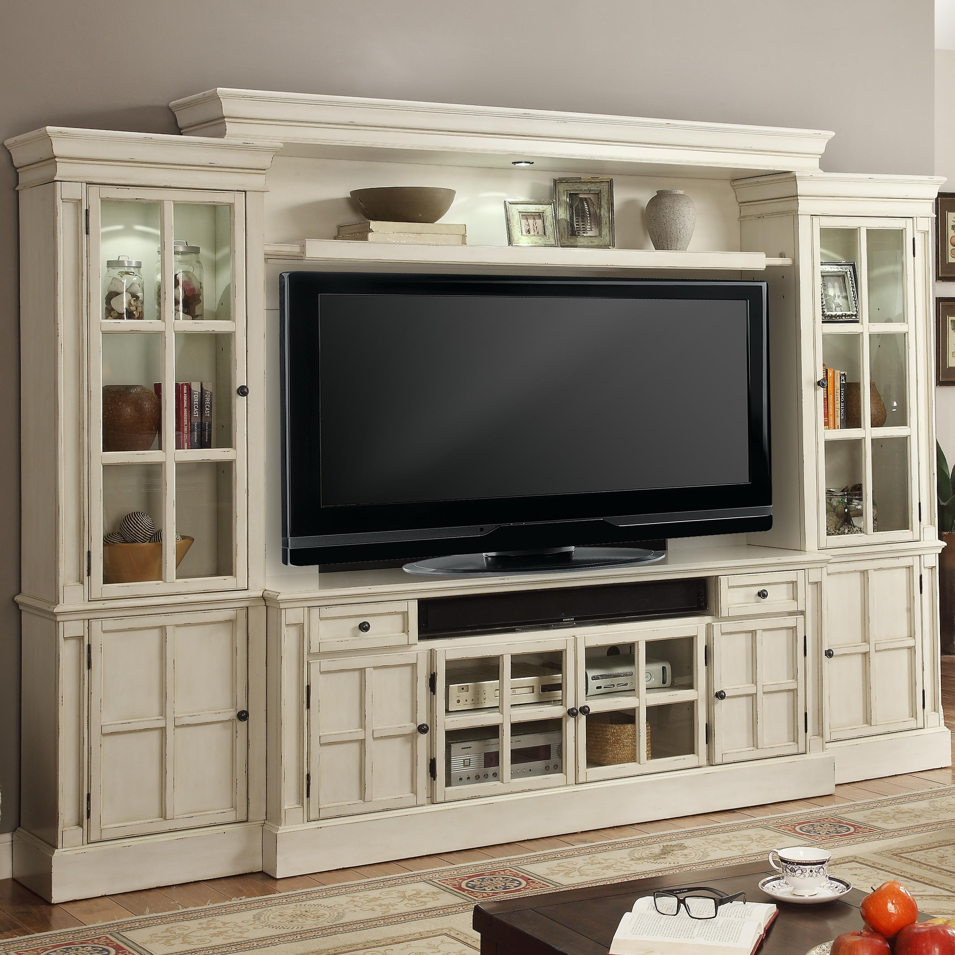 Parker House Charlotte 72 Console Entertainment Wall with