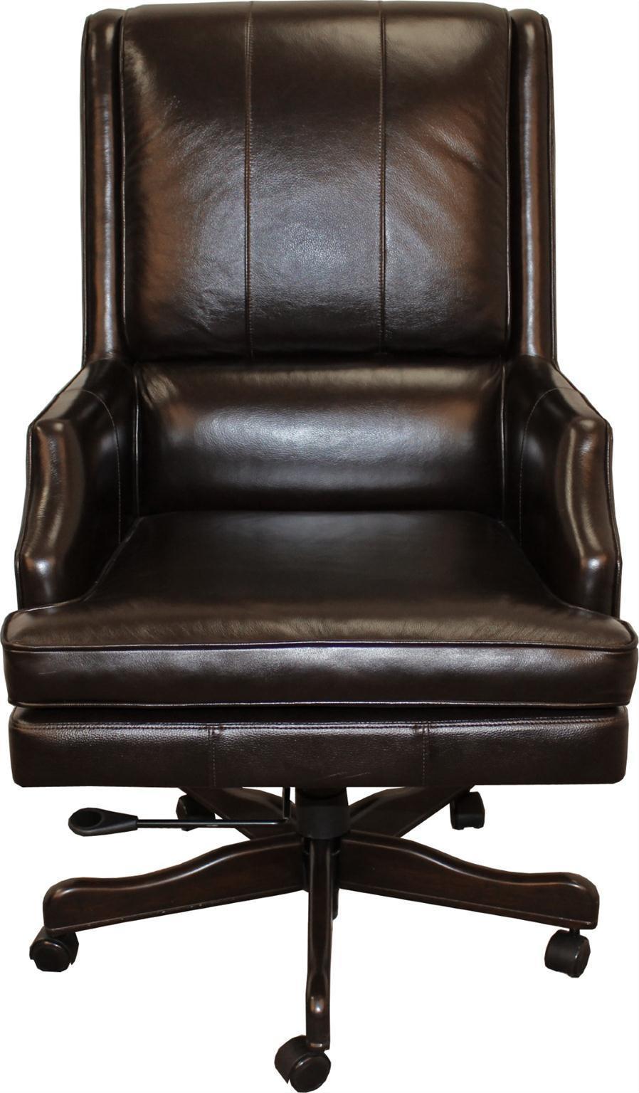 Parker Scott Easton Leather Desk Chair  Morris Home