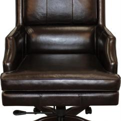 Leather Desk Chairs Rent And Tables Parker Scott Easton Chair Morris Home Executive