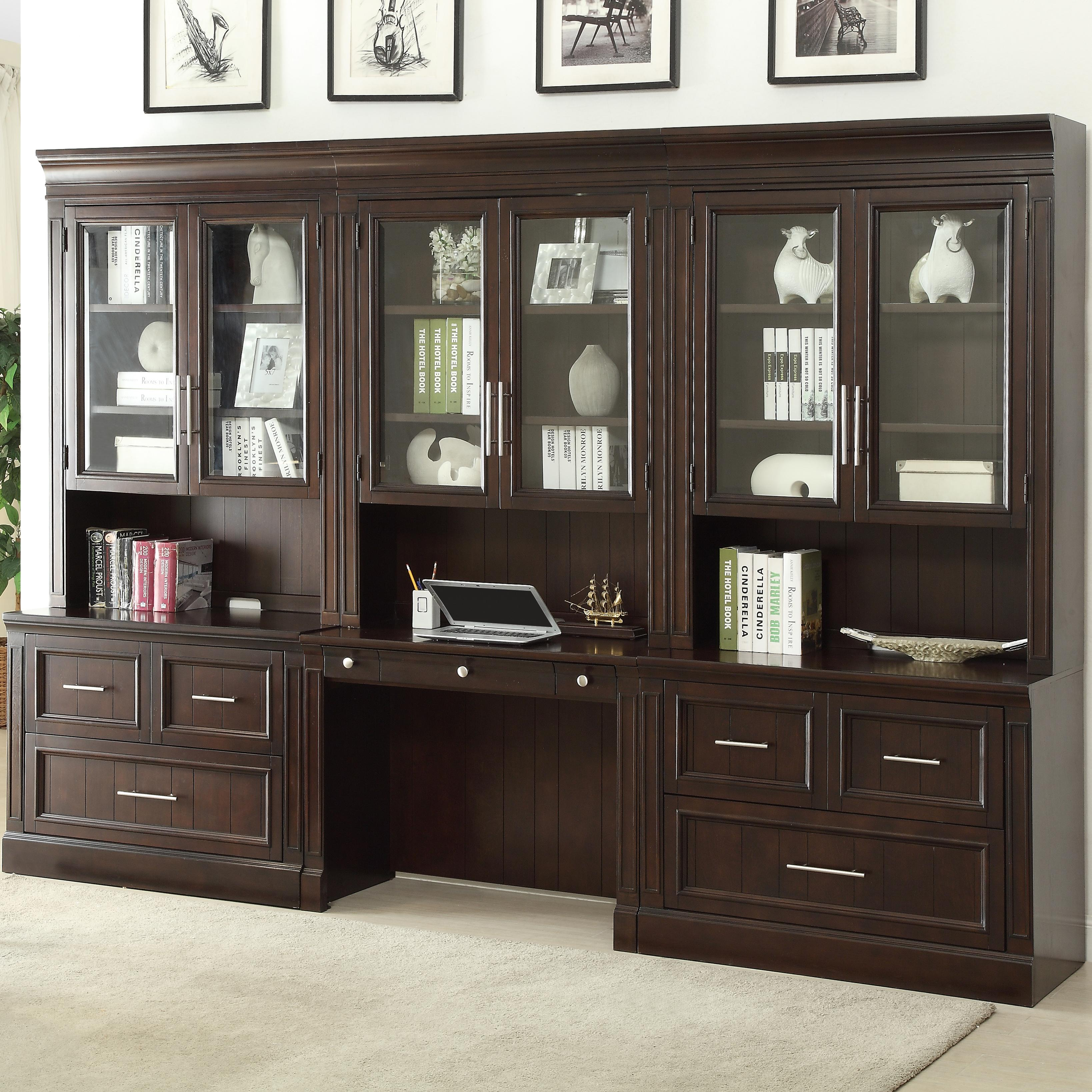 Parker House Stanford Wall Unit with Lateral Files and