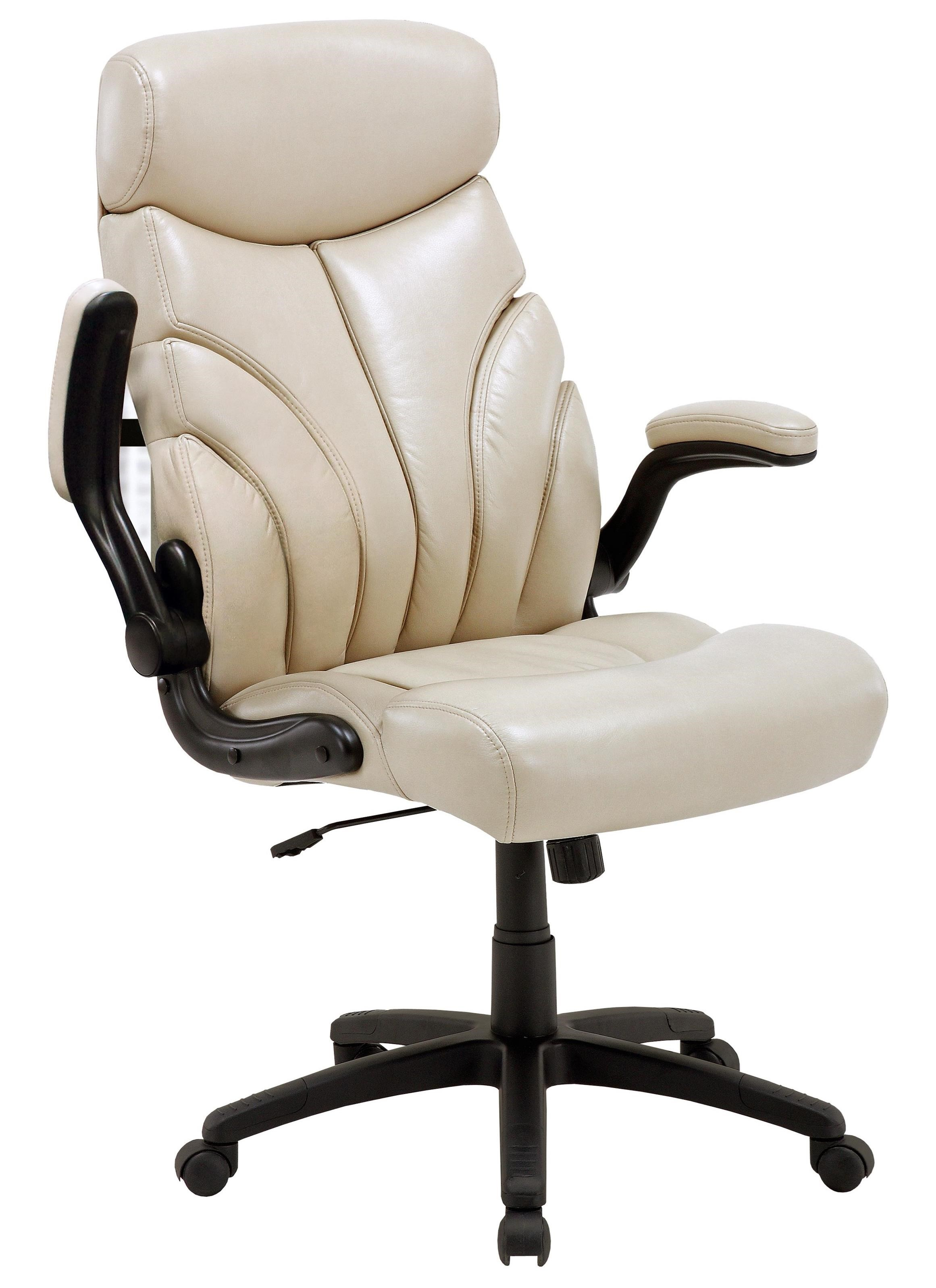 Desk Chairs Contemporary Desk Chair with Lift Arms