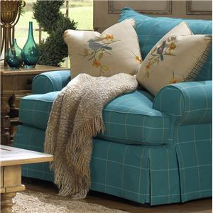 craftmaster chair and a half alera office chairs review paula deen by p997000 p997020bd with flared back cushion