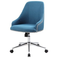 Desk Chair Blue Positions For Extraction Office Chairs Boulevard Home Furnishings Carnegie