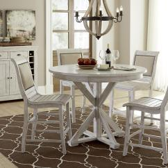 White Distressed Dining Chairs Stool Chair Progressive Furniture Willow Casual Room Group