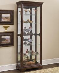 Pulaski Furniture Curios 21308 Gallery Curio Cabinet