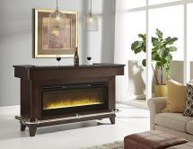 Pulaski Furniture Evo Black Granite Bar With Electric