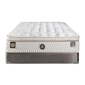 Restonic Hybrid Versailles Queen 15 5 Plush Box Top Mattress