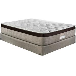 Restonic Latex Prague Luxury Firm Queen Mattress Set