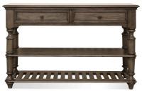 Riverside Furniture Belmeade Traditional Console Table ...