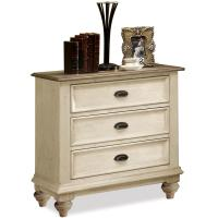 Riverside Furniture Coventry Two Tone 3 Drawer Night Stand ...