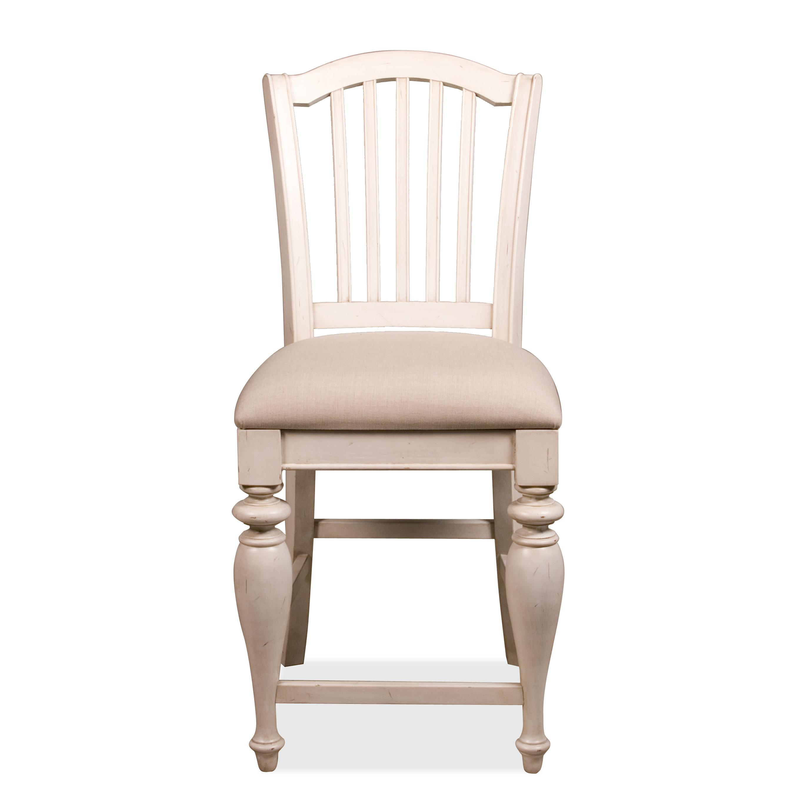 upholstered counter height chairs increase dining chair riverside furniture mix n match stool with