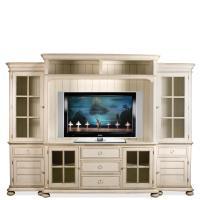 Riverside Furniture Placid Cove Entertainment Wall Unit ...