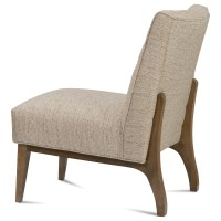 Rowe Chairs and Accents Campbell Contemporary Armless ...