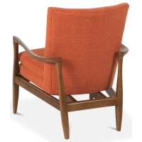 Rowe Chairs and Accents Harris Wood Frame Accent Chair ...