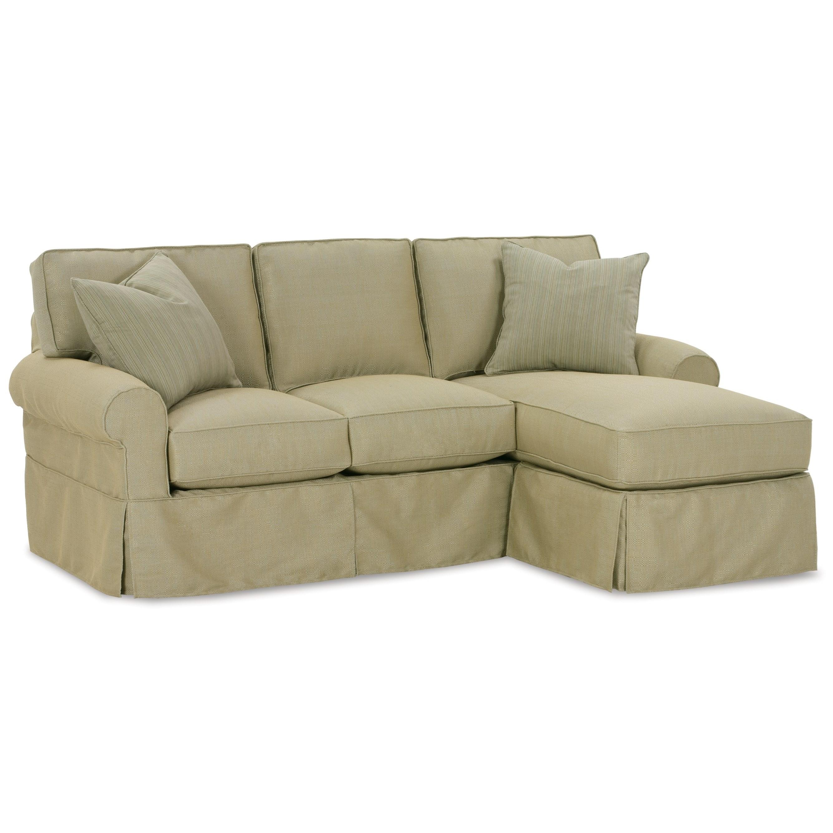 rowe slipcover sofa good sofas nantucket with chaise | baer's ...
