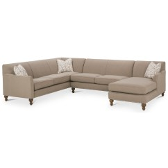 Customize Your Sectional Sofa Natuzzi Sofas Ireland Rowe Varick Rxo B Customizable 3 Piece W Laf Chaise