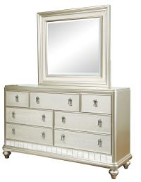 Samuel Lawrence Diva 7-Drawer Dresser & Mirror Set | Royal ...