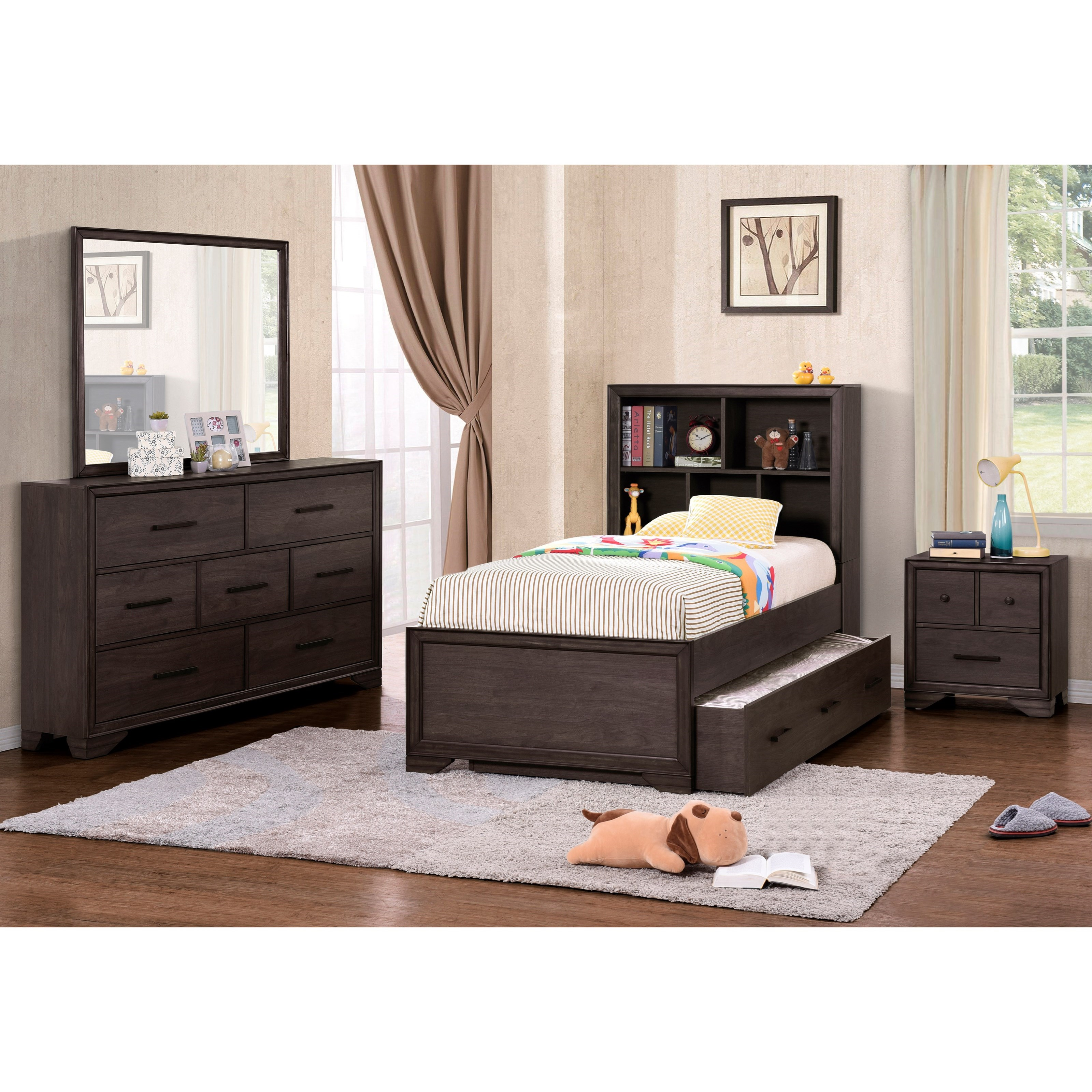 Samuel Lawrence Granite Falls Twin Bedroom Group  Dream